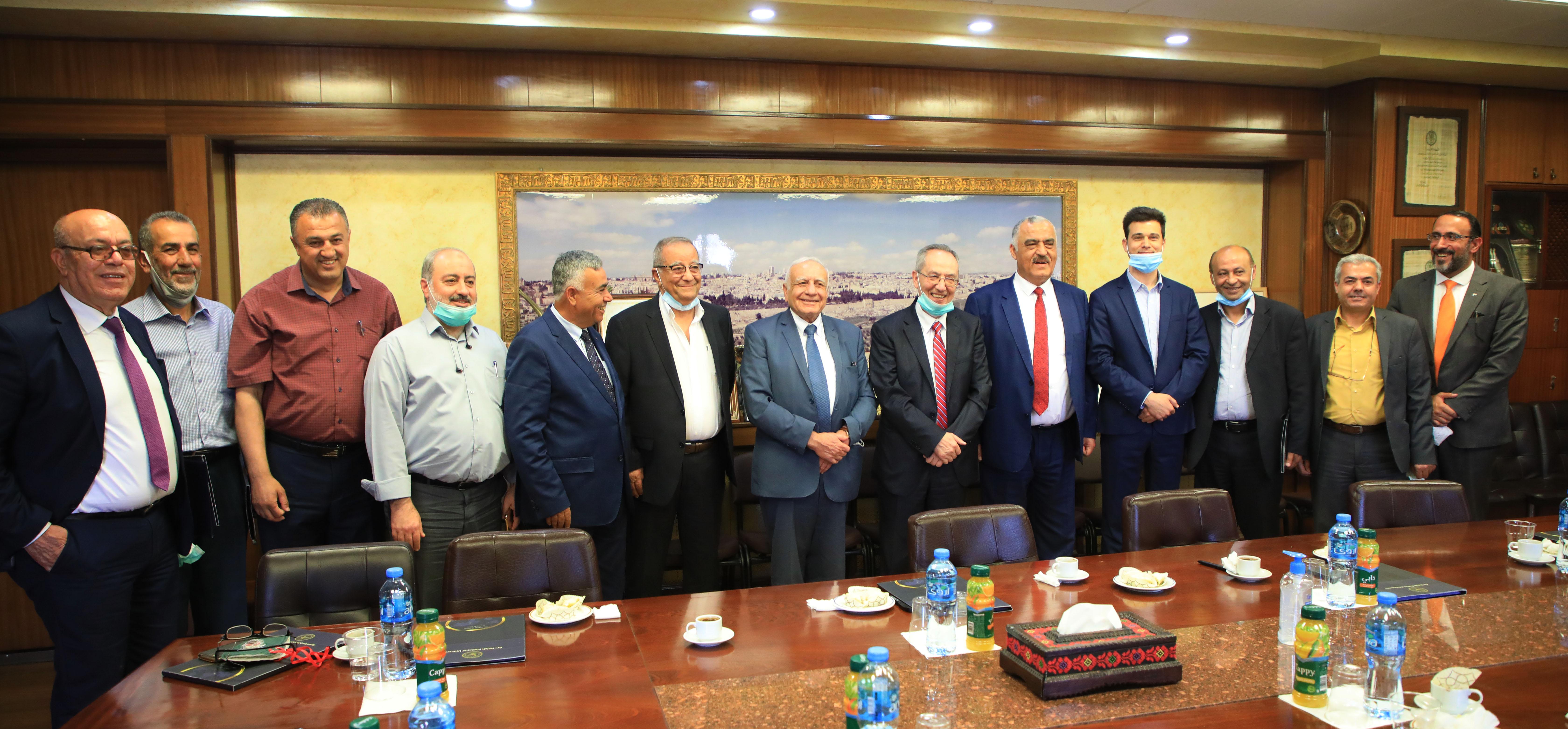 المجلس الأعلى للإبداع والتميز وجامعة النجاح الوطنية يوقعان اتفاقية تعاون