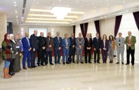 المشاركة في أعمال الاجتماع الثاني لفريق العمل العربي لتصميم مصفوفة مؤشرات الابتكار والإبداع العربية