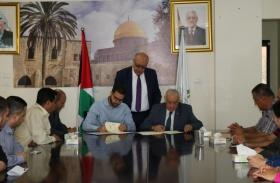 توقيع مذكرة تفاهم بين المجلس الأعلى للإبداع والتميز وFounder Institute Ramallah