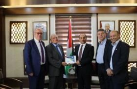 وفد من المجلس الأعلى للإبداع والتميز يزور وزارة الزراعة