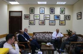 وفد من المجلس الأعلى للإبداع والتميز يزور وزير التعليم العالي والبحث العلمي