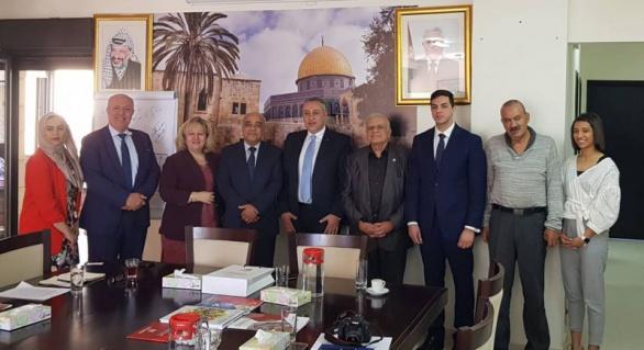 المجلس الأعلى للإبداع والتميز والوكالة الفلسطينية للتعاون الدولي يبحثان آليات تعزيز التعاون