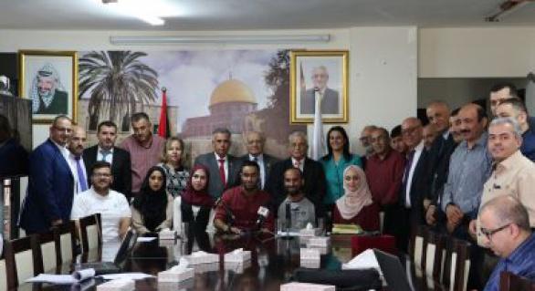 المجلس الأعلى للإبداع والتميز يوقع اتفاقيات احتضان لأربعة مشاريع إبداعية لطلبة جامعة القدس المفتوحة